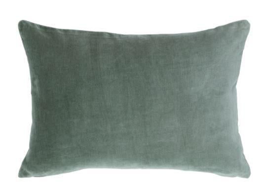 Pillow IH Lumbar Solid Velvet - 13 Hub Lane   |  Decorative Pillow