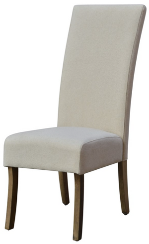 Assembled Classic Parsons Chair (Oatmeal Linen) - 13 Hub Lane   |