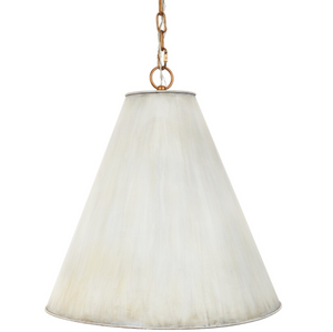 Nicole Cream Metal Shade Pendant - 13 Hub Lane   |  Pendant