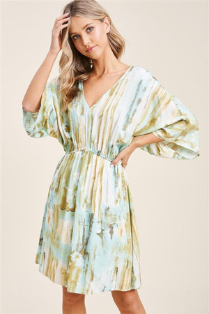 Kimono Sleeve Dress - 13 Hub Lane   |