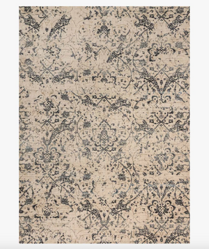 MH Ivory/Ink Rug - 13 Hub Lane   |