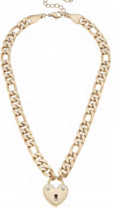 Necklace CANV Padlock Chain