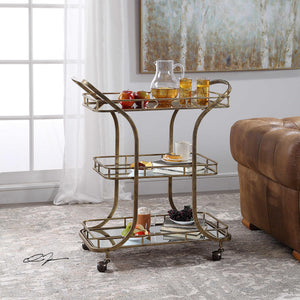 Stassi Serving Cart - 13 Hub Lane   |