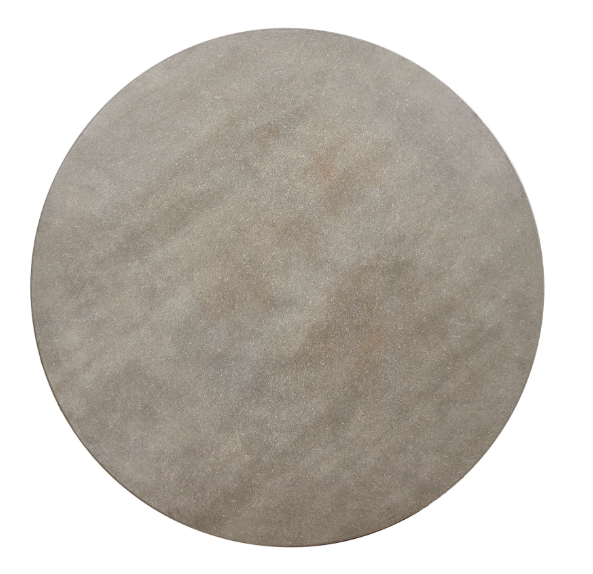 Round Concrete Dining Top