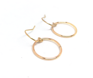 Circle of Love Hoop Earrings - 13 Hub Lane   |