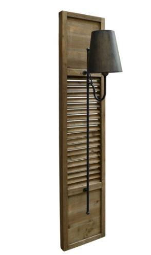 Wall Sconce CRV Shutter - 13 Hub Lane   |