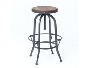 Bar Stool Bristol FH Adjustable Seat Height - 13 Hub Lane   |