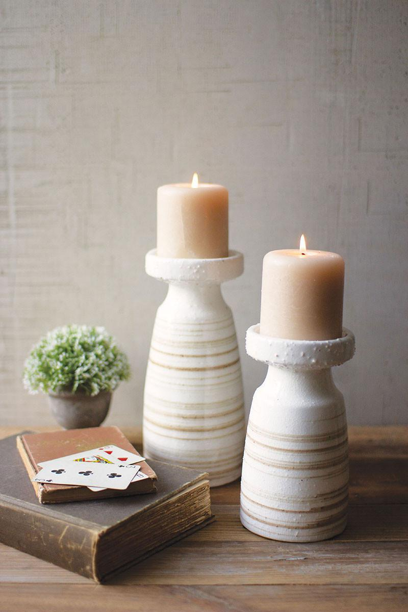 KAL Ceramic Candle Holders
