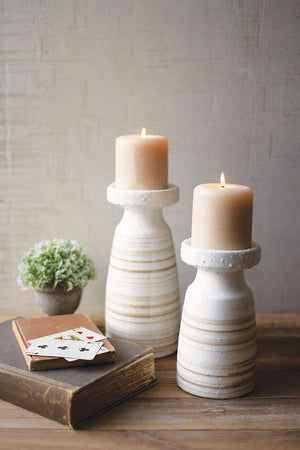 KAL Ceramic Candle Holders - 13 Hub Lane   |  Candle Holder