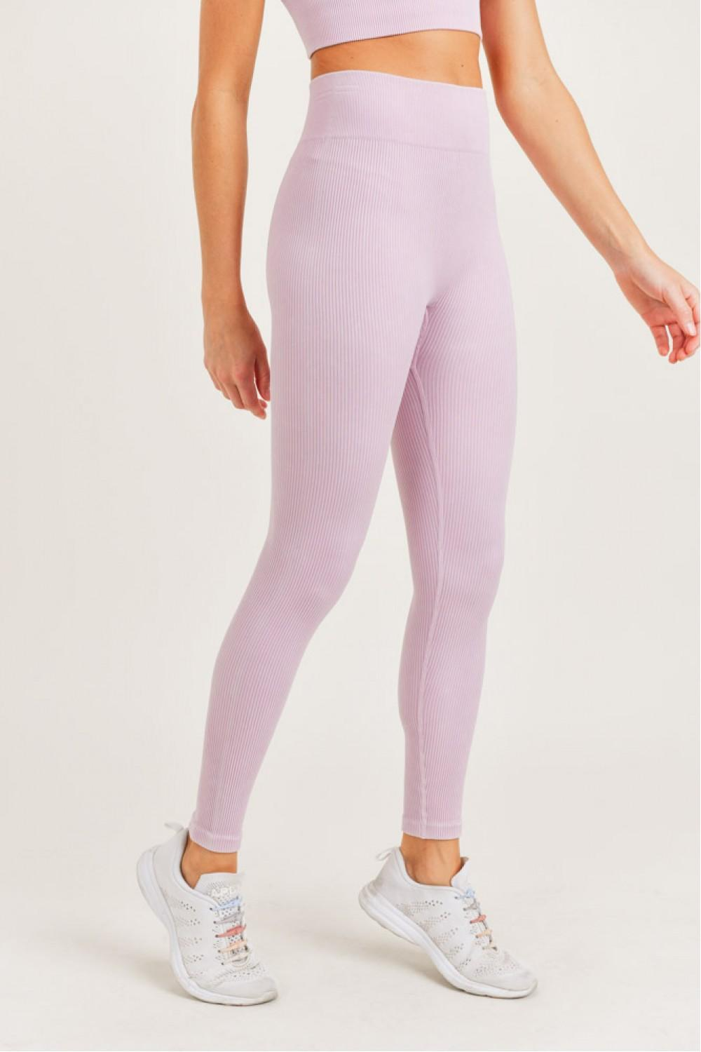 Ribbed Essential High Rise Leggings - 13 Hub Lane   |