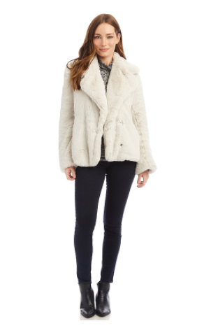 Fifteen Twenty Plush Faux Fur Jacket - 13 Hub Lane   |  Sweater