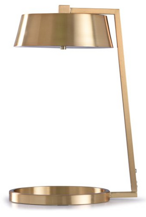 Modern Gold Table Lamp - 13 Hub Lane   |  Table Lamp