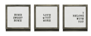 Framed Sayings