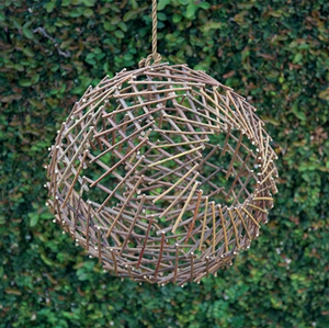 Twig Sphere - 13 Hub Lane   |  Outdoor Decor