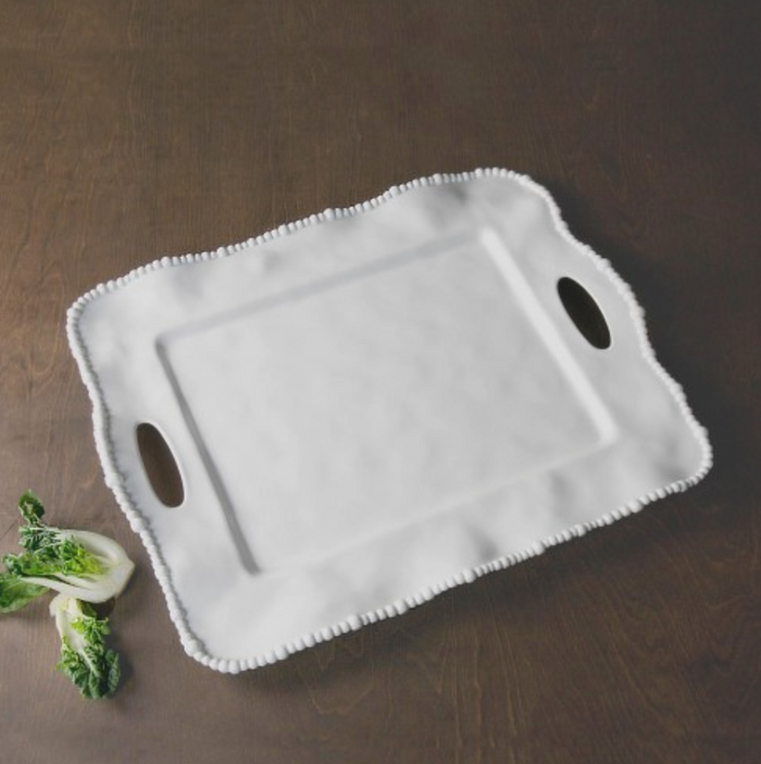 Alegria Rectangular Tray with Handles