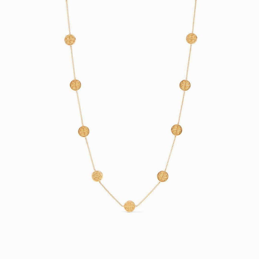 Julie Vos Valencia Delicate Station Necklace - 13 Hub Lane   |