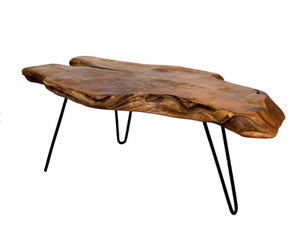 Badang Natural Teak Coffee Table - 13 Hub Lane   |