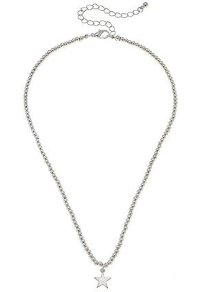 Aria Sphere Necklace - Star - 13 Hub Lane   |  Necklace