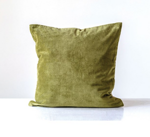 "20"" Velvet Pillow - 13 Hub Lane   