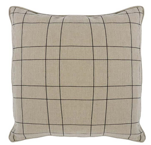Mira Natural/Black Pillow - 13 Hub Lane   |