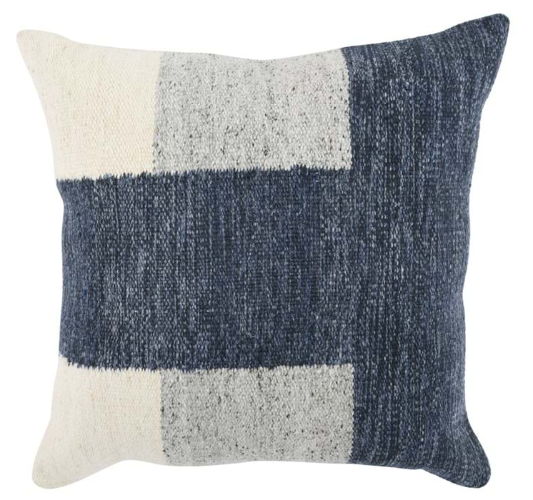 Kass Night Blue/Gray Pillow - 13 Hub Lane   |
