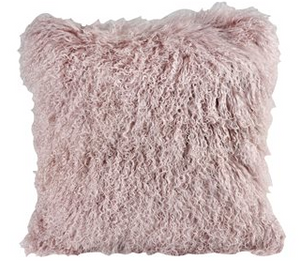 "Apres Ski Pillow Pink 20"" Sq - 13 Hub Lane   
