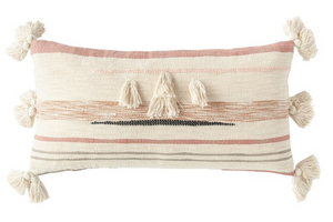 Cotton Woven Kilim Lumbar Pillow - 13 Hub Lane   |