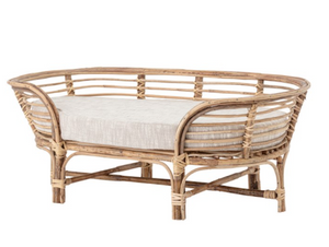 Rattan Dog Bed - 13 Hub Lane   |