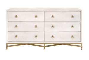 Strand Shagreen 6-Drawer Dresser
