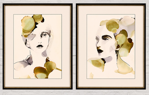 Organic Portraits - 13 Hub Lane   |  Wall Art