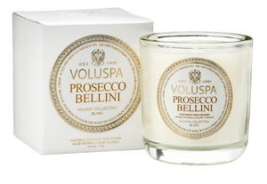 Voluspa 3 oz. Prosecco Bellini Maison Votive Candle