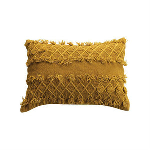 Embroidered Lumbar Pillow - 13 Hub Lane   |