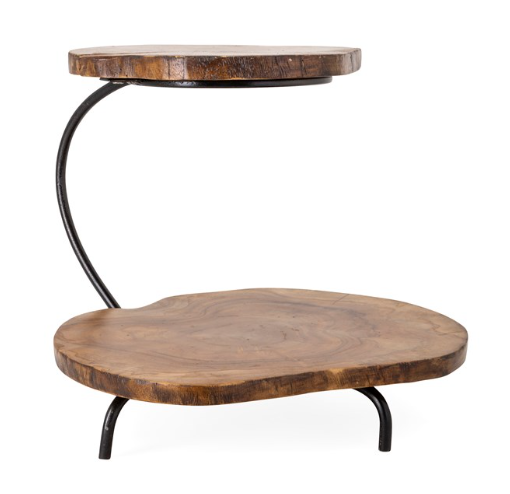 Preston 2-Tier Teak Tray - 13 Hub Lane   |  Tray