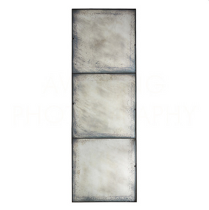 Three Panel Large Antiqued Mirror - 13 Hub Lane   |  Mirror