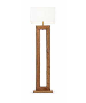 Modena Wood Floor Lamp - 13 Hub Lane   |  Floor Lamp