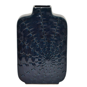 Blue Ceramic Vase - 13 Hub Lane   |  Vase
