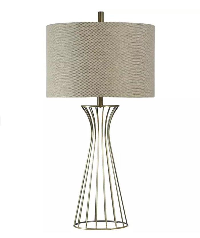 Classic Formed Metal Table Lamp