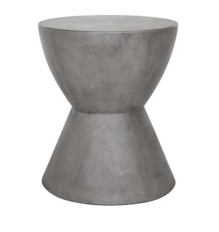 Hourglass Outdoor Stool