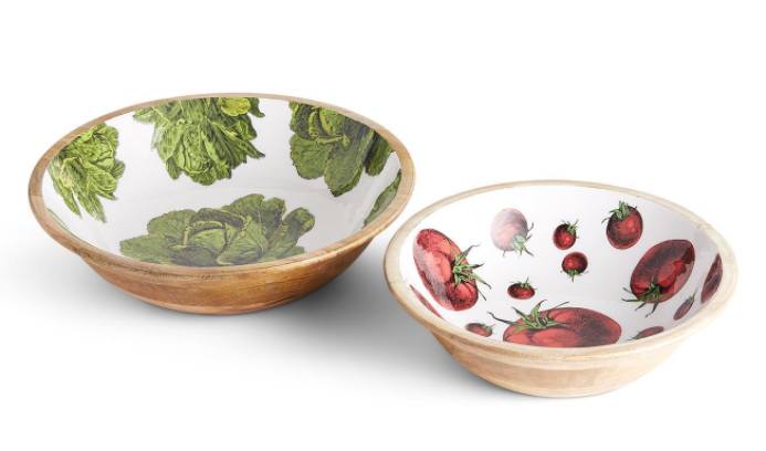 Farm to Table Wood Bowl