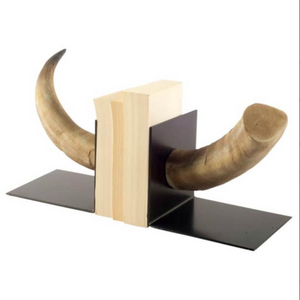 Nickerson Bull Horn Bookends - 13 Hub Lane   |