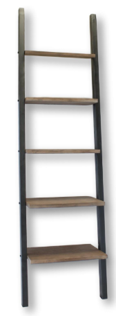 Bella Ladder Book Shelf Iron