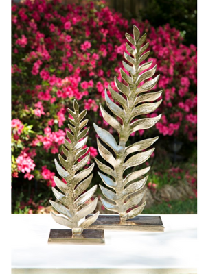 Carrolton Leaf Sculpture - 13 Hub Lane   |