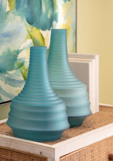 Capri Art Glass Vase - 13 Hub Lane   |