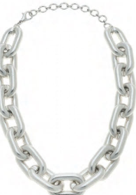 Necklace CANV Avril Worn Silver - 13 Hub Lane   |  Necklace