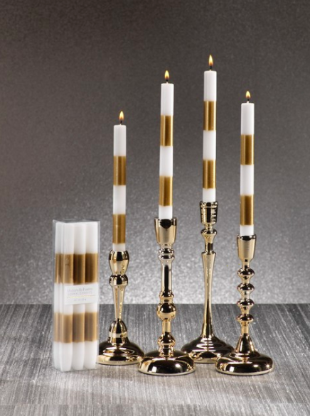 Modern & Festive Formal Candles (Set of 6)