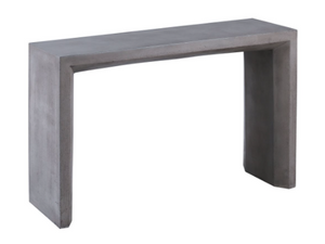 Chamfer Console Table