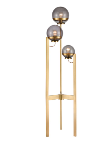 South Water 3-Light Floor Lamp - 13 Hub Lane   |