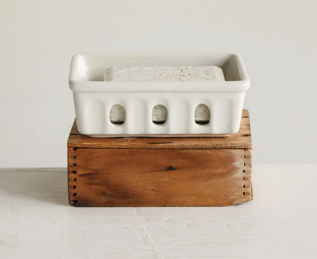 Stoneware Berry Basket/Soap Dish - 13 Hub Lane   |  Soap Dish