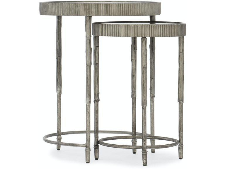 Iron & Mirror Nesting Tables