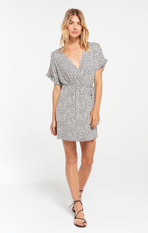 Z Supply Torre Mini Leopard Wrap Dress - 13 Hub Lane   |